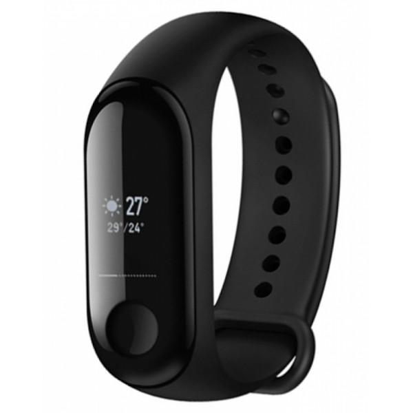 Фитнес-браслет Xiaomi Mi Band 3 с поддержкой NFC (черный)